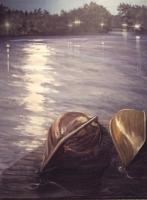 Moonlit Canoes