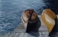 Sunlit Canoes