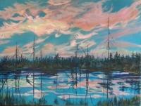 Summer Eve Swamp