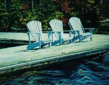 Ellen Cowie landscape painting